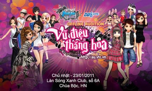 Audition tổ chức offline đón Xuân Tân Mão 2011 2