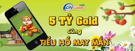 Ongame Mobi lì xì 5 tỷ gold đón Tết Tân Mão 2
