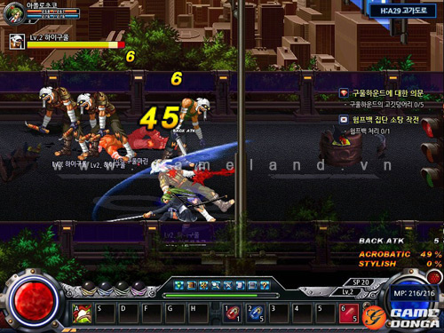 H2 Online: MMO chặt chém kiểu Dungeon and Fighter 6
