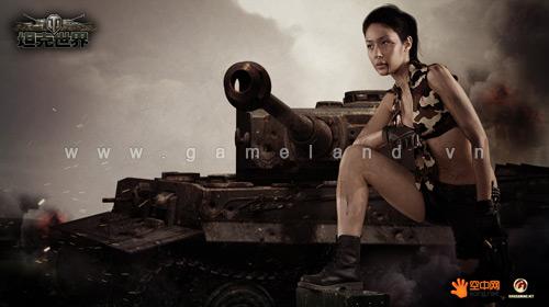 Mỹ nhân World of Tanks khoe ảnh bụi bặm tại Trung Quốc 1