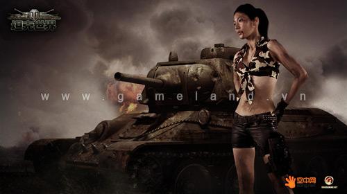 Mỹ nhân World of Tanks khoe ảnh bụi bặm tại Trung Quốc 2