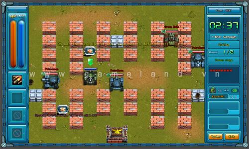 Bắn Xe Tăng chính là webgame Thản Khắc Đại Chiến 5