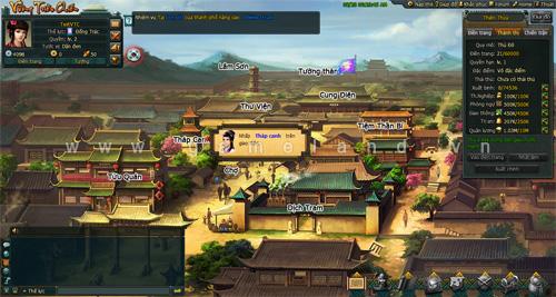 Vương Triều Chiến mở cửa thử nghiệm alpha test 1