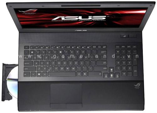 Laptop chơi game G74SX của Asus cập bến châu Âu 6