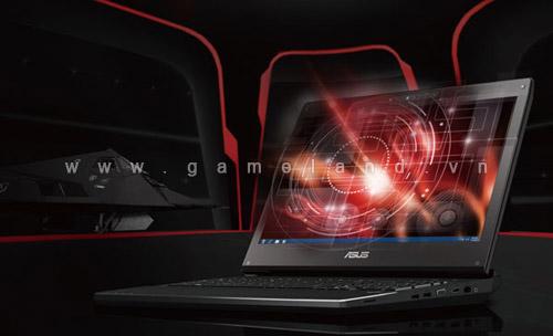 Laptop chơi game G74SX của Asus cập bến châu Âu 1