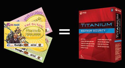 Đổi thẻ Oncash cũ lấy phần mềm diệt virus Trend Micro 2