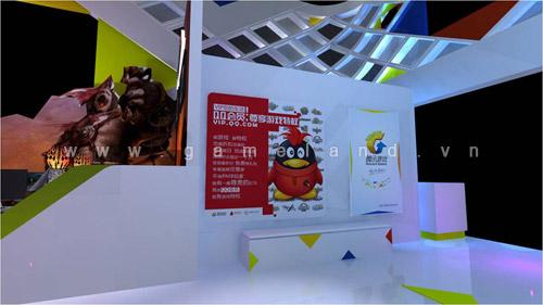 ChinaJoy 2011: Tham quan gian hàng Tencent Games 4