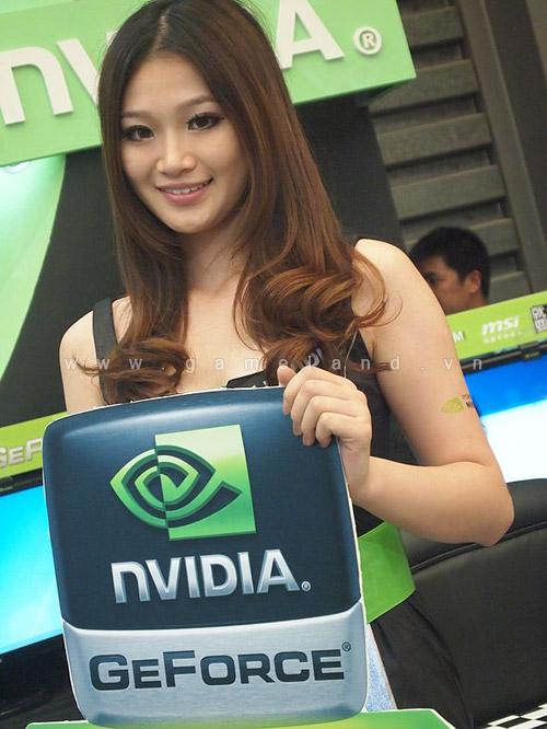 ChinaJoy 2011: Chiêm ngưỡng các mỹ nhân của Nvidia 4