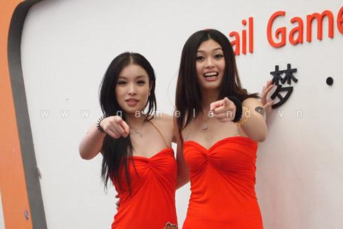 """ChinaJoy 2011: Chiêm ngưỡng """"nhị Kiều"""" của Snail Game 12"""