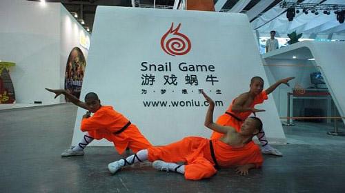 ChinaJoy 2011: Đệ tử Thiếu Lâm trình diễn võ thuật 2