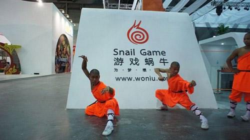 ChinaJoy 2011: Đệ tử Thiếu Lâm trình diễn võ thuật 4
