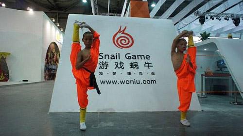 ChinaJoy 2011: Đệ tử Thiếu Lâm trình diễn võ thuật 6
