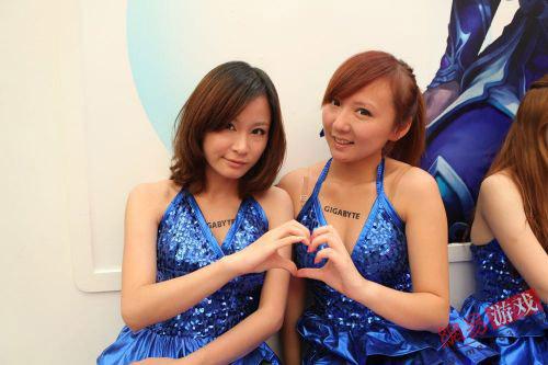 ChinaJoy 2011: Những cặp đôi showgirl đáng yêu (1) 11