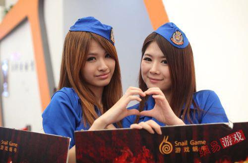 ChinaJoy 2011: Những cặp đôi showgirl đáng yêu (2) 26