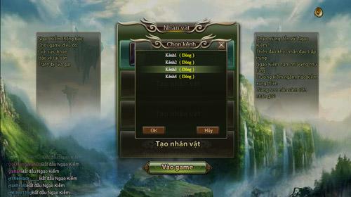 Ngạo Kiếm ra mắt game thủ Việt với 3 cụm máy chủ 1