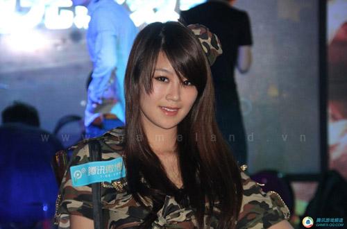 Vẻ đẹp của các người mẫu tại WCG Trung Quốc 2011 9