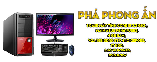 Cơ hội nhận máy tính khủng từ Phá Phong Ấn 2
