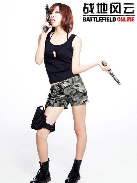Những nữ chiến binh gợi cảm của Battlefield Online 6