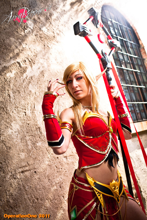 World of Warcraft: Cosplay nàng Blood Elf xinh đẹp 1