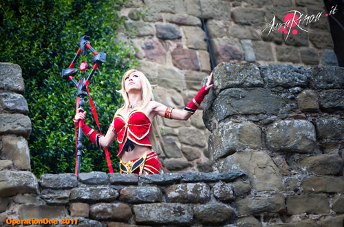 World of Warcraft: Cosplay nàng Blood Elf xinh đẹp 3