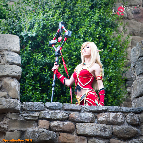 World of Warcraft: Cosplay nàng Blood Elf xinh đẹp 4