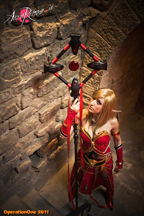 World of Warcraft: Cosplay nàng Blood Elf xinh đẹp 5