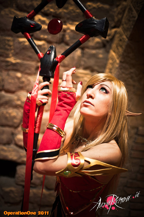 World of Warcraft: Cosplay nàng Blood Elf xinh đẹp 6