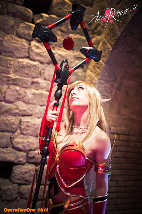 World of Warcraft: Cosplay nàng Blood Elf xinh đẹp 7