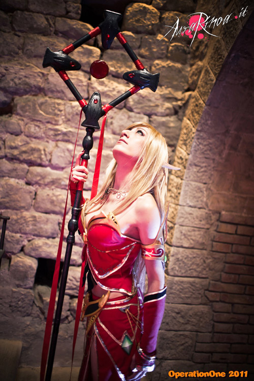 World of Warcraft: Cosplay nàng Blood Elf xinh đẹp 8