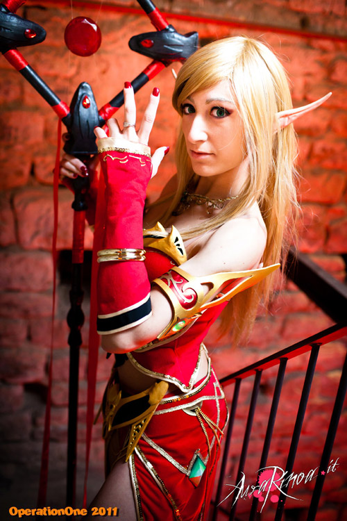 World of Warcraft: Cosplay nàng Blood Elf xinh đẹp 9