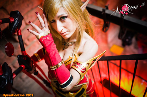 World of Warcraft: Cosplay nàng Blood Elf xinh đẹp 11