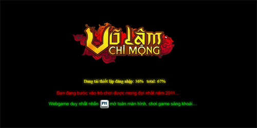 Võ Lâm Chi Mộng tặng 1.000 vàng cho game thủ 1