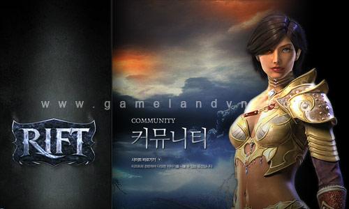 Rift phiên bản Hàn Quốc ra mắt trang chủ chính thức  1