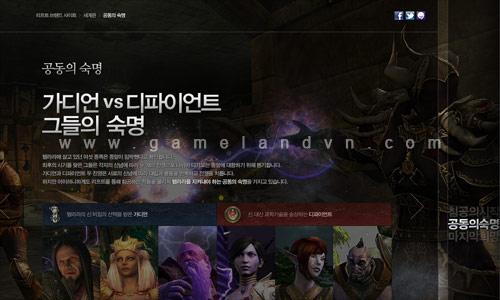 Rift phiên bản Hàn Quốc ra mắt trang chủ chính thức 3