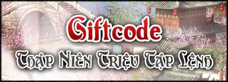 GameLandVN tặng 100 giftcode Thập Niên Nhất Kiếm 2