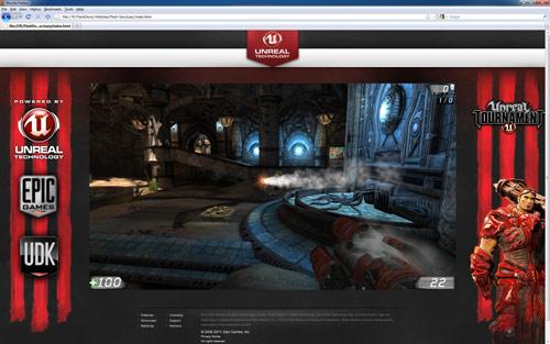 Unreal Engine 3 đã chạy ổn định trên nền tảng flash 2