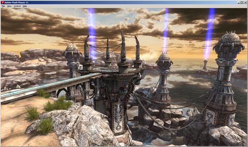 Unreal Engine 3 đã chạy ổn định trên nền tảng flash 3