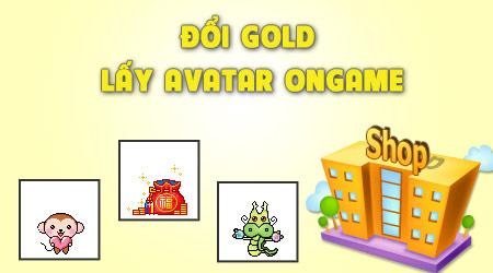 Ongame ra mắt dịch vụ đổi gold lấy ảnh đại diện 1