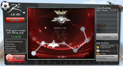 Hệ thống giải đấu trong Kungfu Bóng Đá  3