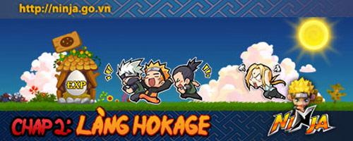 """Ninja chuẩn bị cập nhật phiên bản mới """"Làng Hokage"""" 1"""