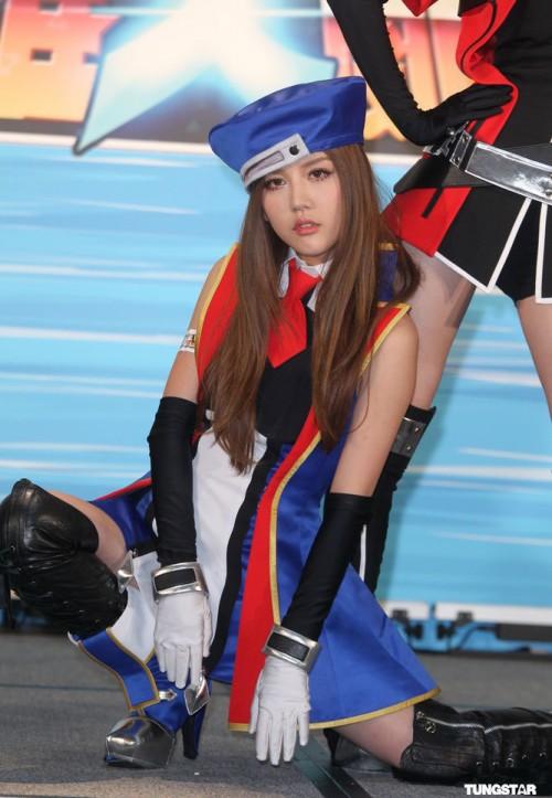 By2 rạng ngời trong trang phục cosplay Lost Saga 9