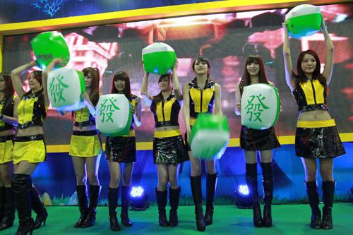 Mỹ nhân xứ Đài xinh tươi tại Taipei Game Show 2012 4