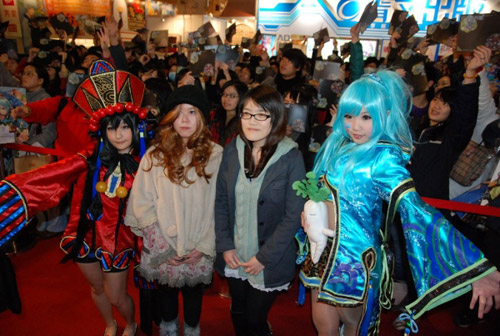 Mỹ nhân xứ Đài xinh tươi tại Taipei Game Show 2012 7