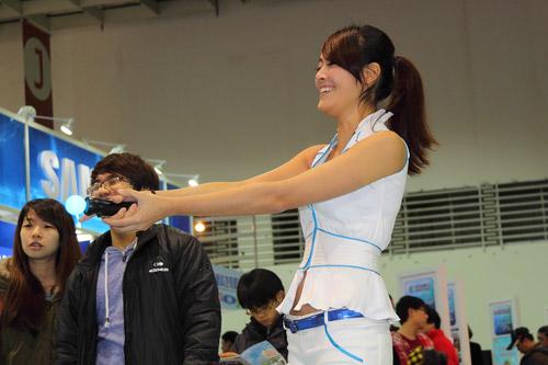 Mỹ nhân xứ Đài xinh tươi tại Taipei Game Show 2012 13