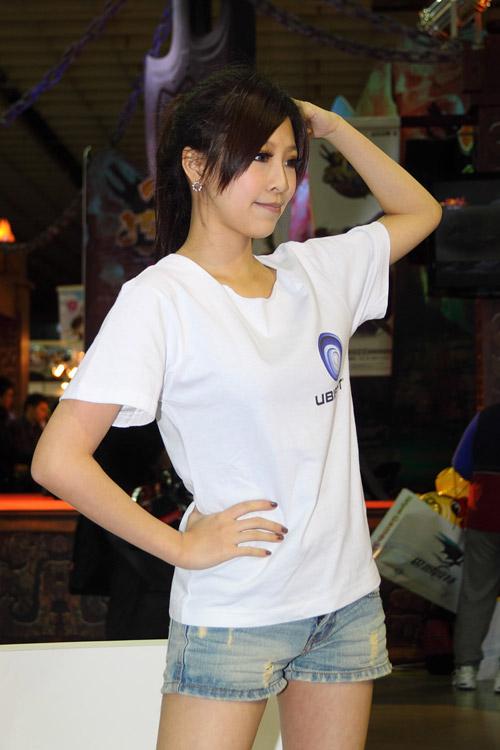 Mỹ nhân xứ Đài xinh tươi tại Taipei Game Show 2012 18