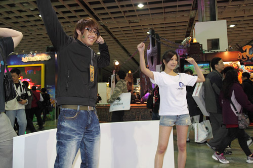 Mỹ nhân xứ Đài xinh tươi tại Taipei Game Show 2012 19