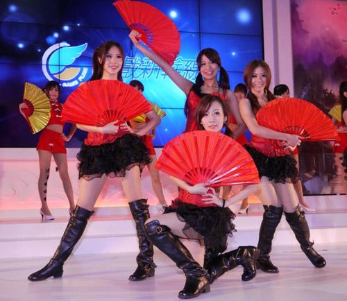 Mỹ nhân xứ Đài xinh tươi tại Taipei Game Show 2012 24