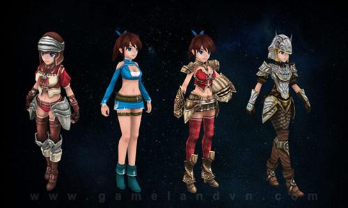Blue Moon: Webgame 3D đa nền đến từ Hàn Quốc 2