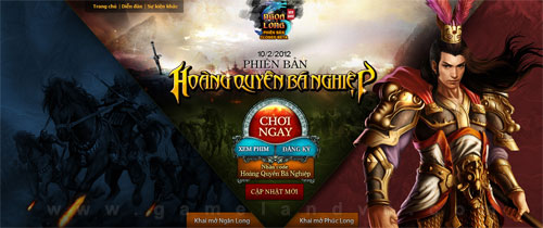 GameLandVN tặng 700 giftcode webgame Ngọa Long 2