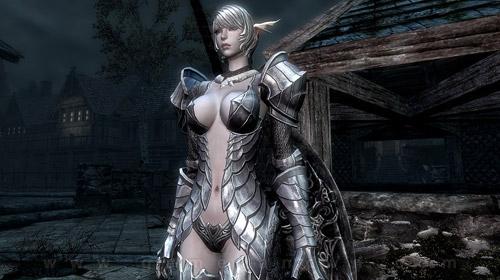 Nữ chiến binh Tera Online gợi cảm trong Skyrim 3
